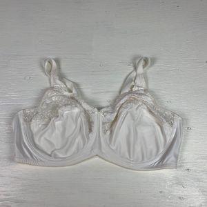Lilyette Tailored Minimizer Bra Ivory Size 42D